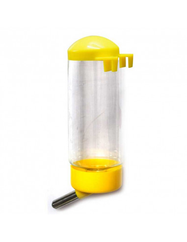 Pawzone Water Bottle With Hook for Small Animal Cages, 500ml