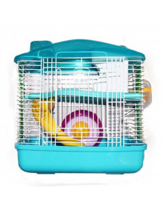 Pawzone Sky Blue Rat Intractive cage