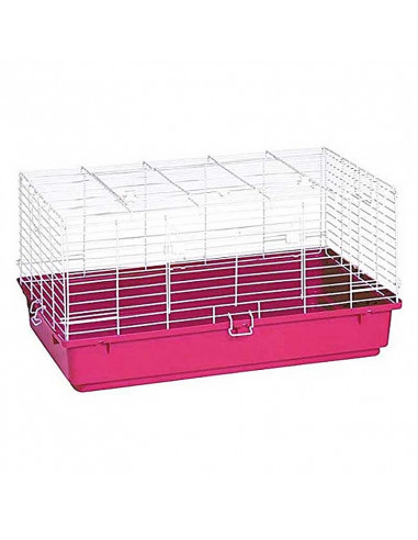 Pawzone pink rabbit cages
