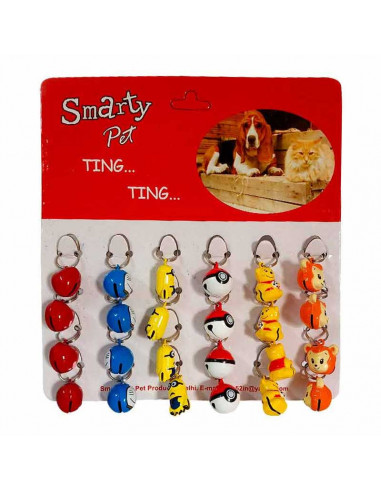 Smarty Pet Collar Bell for Dogs and Cats Small - 2 bells