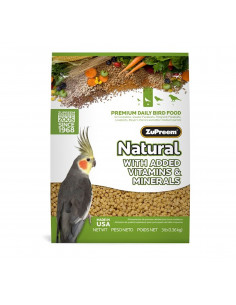 ZuPreem Natural For Medium Parrot, 1.13Kg