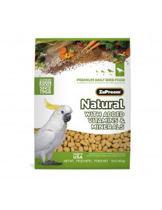 ZuPreem Natural For Large Parrot, 1.36Kg