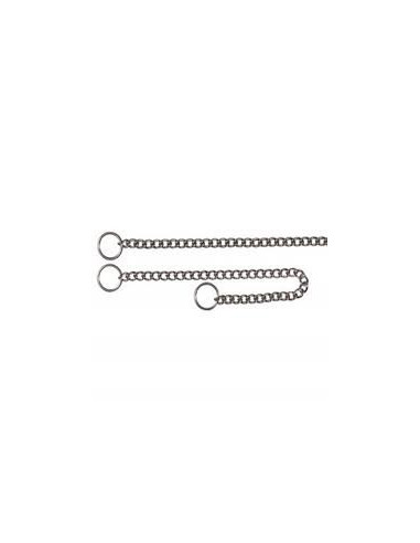 "Trixie, Choke chain, stainless steel, 17""/2.5 mm"