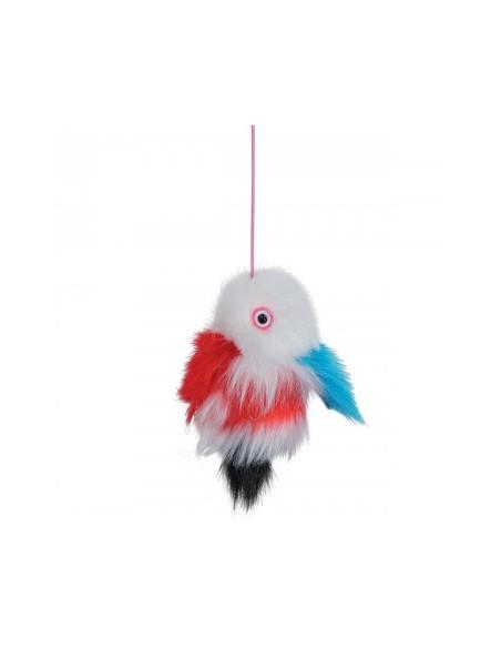 Trixie Fish On an Elastic Plush Toy