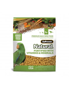 ZuPreem Natural For Medium & Large Parrot, 1.36Kg