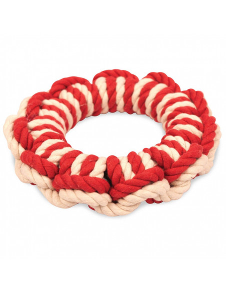 Pet Brands New England Life Ring Dog Toy