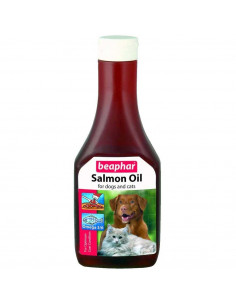 Beaphar Salmon Oil Anti Hair Fall Supplement for Dogs, 425 ml