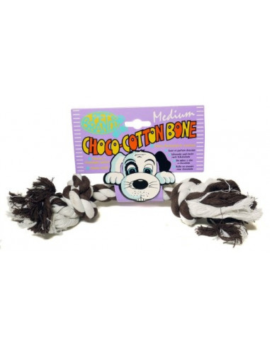 Pet Brands, Choco cotton bone Medium