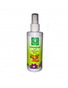 Aroma Tree 2 in 1 Deodorant Spray 200 ml For Dogs And Cats.- Lemon Grass