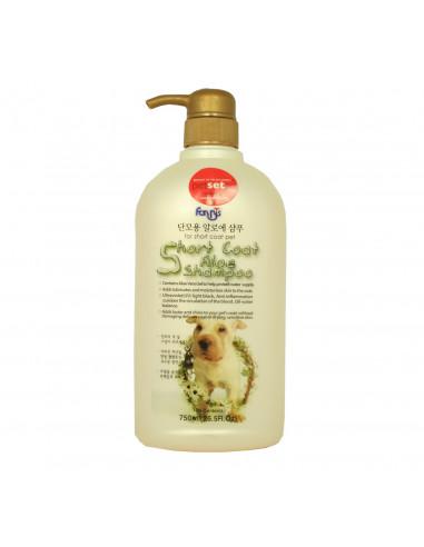 Forbis Short Coat Aloe Dog Shampoo, 750 ml
