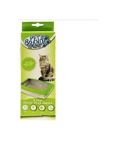 Pet Brands,Pets at Home Cat Litter Tray Bags 8pk
