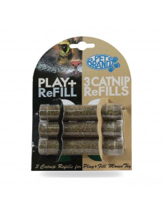 Pet Brands Play With Fill Refillable Cat Nip