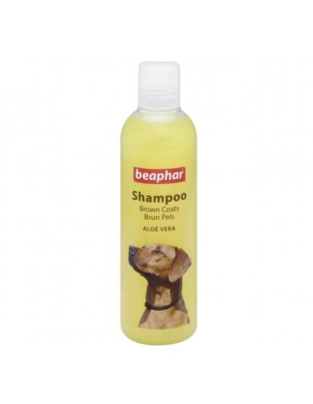 Beaphar Aloe Vera Dog Shampoo For Brown Coats, 250ml