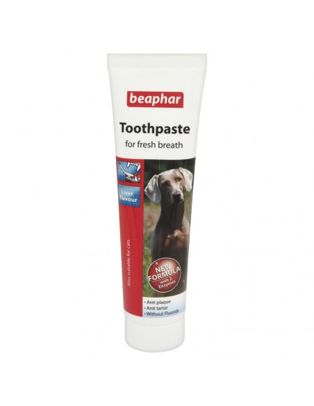 Beaphar Double Action Dog Toothpaste, 100 g