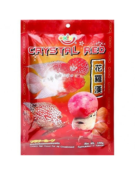 OKIKO Crystal Red fish food 100g