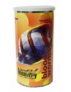 Taiyo pluss Discovery Blood Worms premium fish food 55g