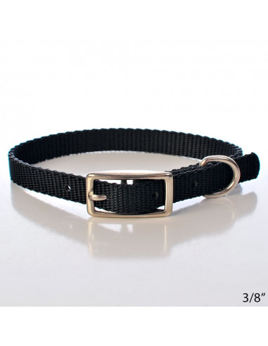 Pawzone Black Collar for Puppys