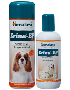 Himalaya Erina EP Powder and Shampoo Combo Pack, 150g + 200ml