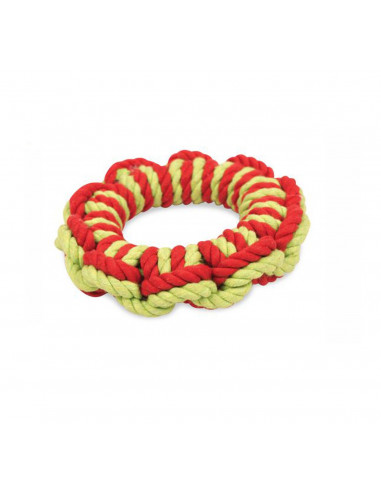 Pet Brands Marine Captions Wheel Rope Dog Toy