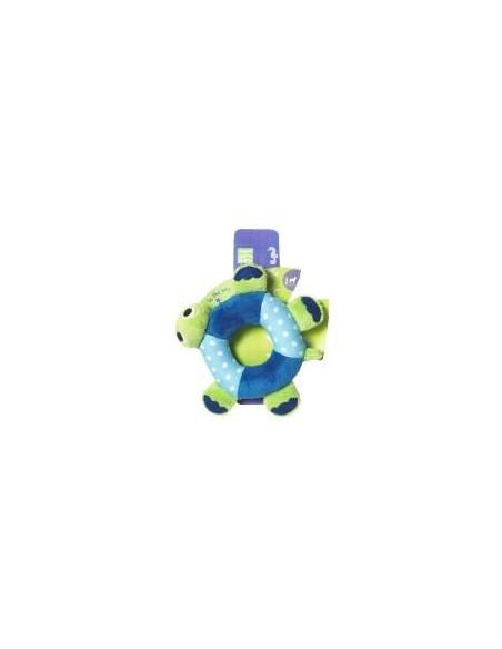 Pet Brands Cuddly Fish Ring Plush Toy, 12cm
