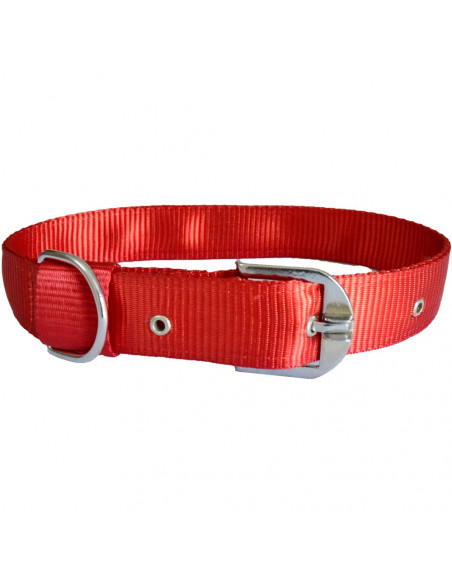 Pawzone Smooth & Sturdy Red  Collar