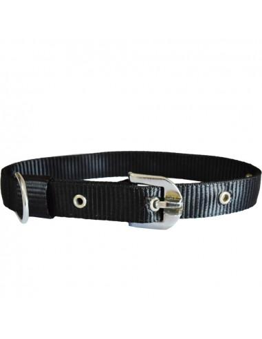 Pawzone Smooth & Sturdy  Black  Collar