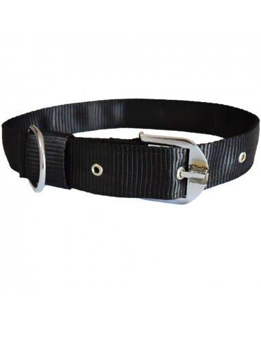Pawzone Smooth & Sturdy  Black  Collar