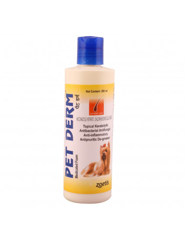 Pet Derm Shampoo 200 ml