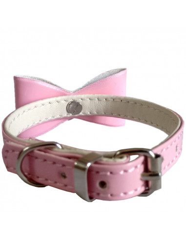 Pawzone Red Bow and Bell Collar for Cats