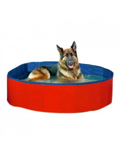 Pet font Summer Cool Foldable Dog Bathtub, 80cm