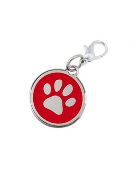Pawzone Trendy Red Pendant For Dog & Cat