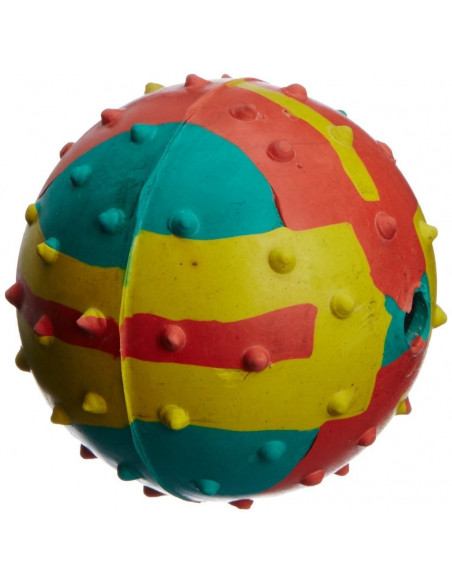 Pawzone Dog Musical Ball, Large (1 Piece), Color May Vary
