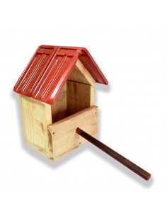 Pawzone Wooden Bird House