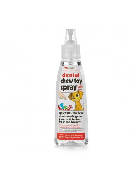 Petkin Dental Chew Toy Spray for Dogs