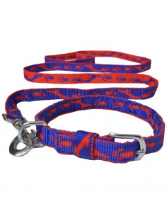 Pawzone Dog Collar with Leash