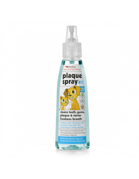 Petkin Plaque Spray 120 ml, Cool mint