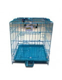 Paw zone blue rabbit cages