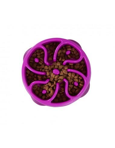 Fun Feeder Mini Slow Feed Bowl Purple