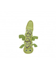 Outward Hound Fire Biterz Lizard 2 Squeak  Green  40 cm