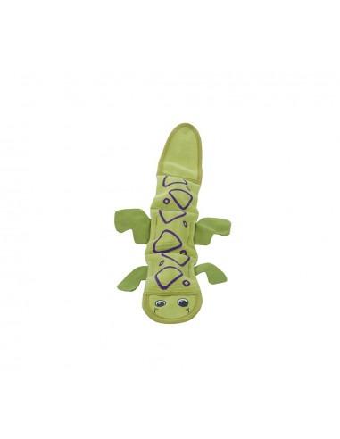 Fire Biterz Lizard 2 Squeak, Green, 40 cm