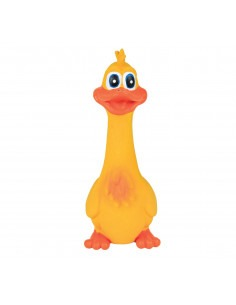 Trixie Duck Original Animal Sound Latex Squeeze Toy For Dogs  20mm