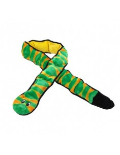 Outward Hound Invincible Snake with 3 Sqks Toy 55 cm