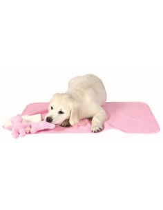 Puppy Kit with blanket, toys & towel, Pink
