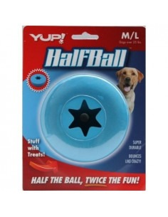 Half Ball Interactive Dog Toy Small