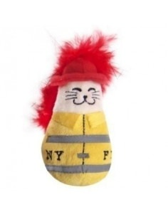 Pet Brands Fireman Catnip Toy 9 cm