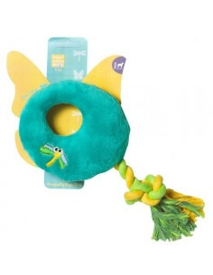 Pet Brands Dragonfly Rope Ring Plush Toy 24 cm