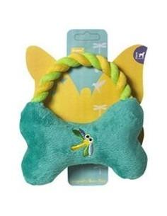 Pet Brands Dragonfly Bone Tug Plush Toy 14 cm