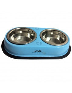Pawzone Solid Double Diner Bowl
