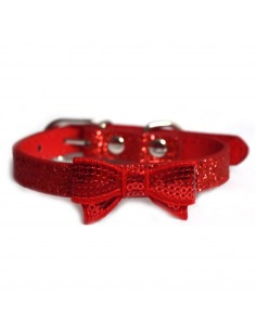 Pawzone Bow Pendant Cat Collar