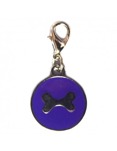 Pawzone Trendy Black Paw Pendant for Cat